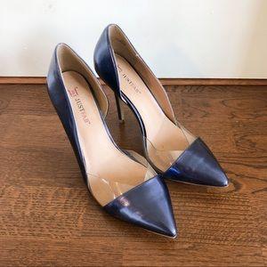 COPY - Navy Pointed Toe Heels